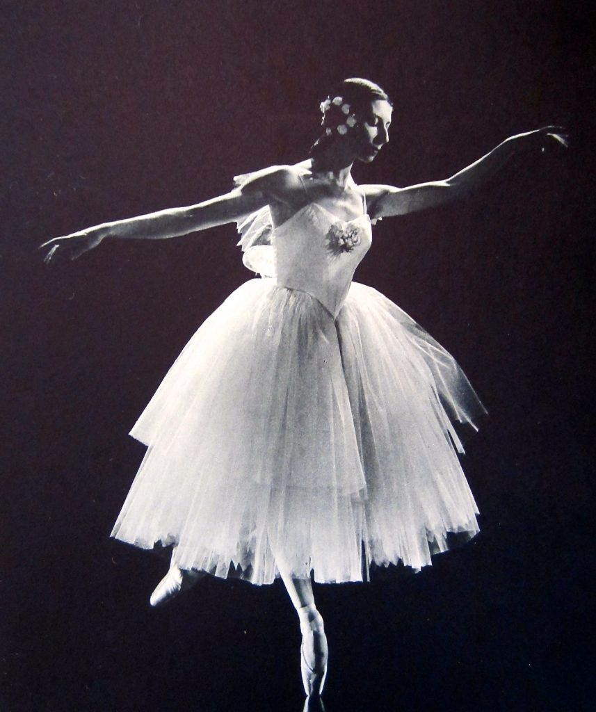 Nadia Nerina and David Blair in La Fille mal gardée, choreographed by Sir Frederick Ashton in 1963.